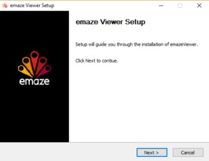 emaze viewer install